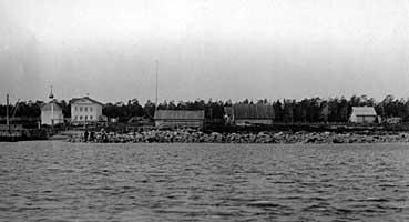 Реболда. Перевоз на Анзерский остров (кон. XIX в.)