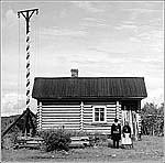 Сигнальная машина у порога Сиговец, 1909 г.Фото С.М.Прокудина-Горского