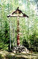 Крест 1812 года в Старой Сосновке