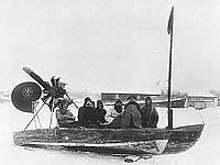 Глиссер Л.Курчевского. Фото 1920-х гг.