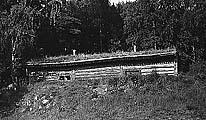 Землянка в Савватьево. Фото 1980-х гг.