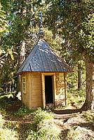 Деревянная часовня XIX в. Фото 2007 г.