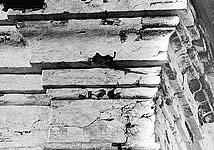 Илл. 13б. Карниз на фасаде алтаря