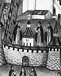 Илл. 2. Фрагмент иконы «Прп. Зосима и Савватий». 1709 г.
