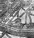 Илл. 3. Фрагмент гравюры А. и И. Зубовых 1744 г.