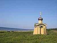Часовня Преподобного безымянного инока Терского на берегу Белого моря