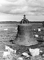 Колокол «Благовестник» на Б.Заяцком острове. Фото автора