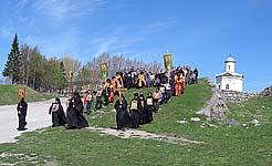 Крестный ход. Весна 2005 г.