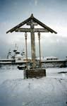 Крест установлен. 19 января 2004 г.