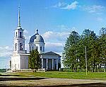 Церковь Ап. Петра и Павла в Лодейном Поле, 1909 г. Фото С.М.Прокудина-Горского