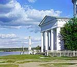 Памятник Петру I в Новой Ладоге, 1909 г. Фото С.М.Прокудина-Горского