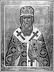 Святитель Макарий, митрополит Московский и всея Руси. Современная икона