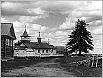 Погост Мандроги, 1909 г. Фото С.М.Прокудина-Горского
