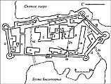 План Соловецкого монастыря