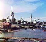 Новая Ладога, 1909 г. Фото С.М.Прокудина-Горского