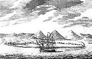 Охотск. Гравюра 1756 г.