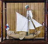 Яхта «Святой Петр». Макет 1:50. Мастер Новиков П.А.