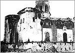 Спасо-Преображенский собор после пожара