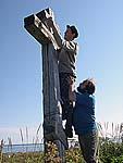 Реставрация поклонного креста