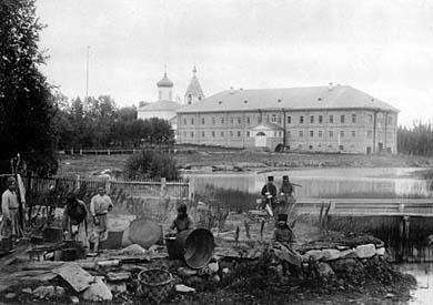 Савватьево. Фото Я.Лейцингера, 1899