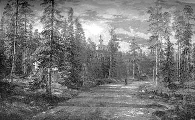 Лес подле Секирной горы