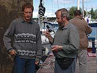 Интервью Соловецкому радио