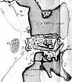 Илл. 4. План Соловецкого монастыря 1770 г. Фрагмент
