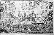 Илл. 7. Гравюра Соловецкого монастыря 1825 г.