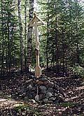 Илл. 6. Памятный крест на месте часовни св. Варвары
