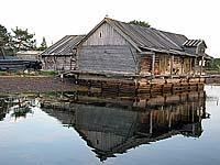 Амбар для хранения рыбы