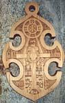 Судовой крест, подаренный «Историку Морозову» Георгием Кожокарем