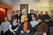 Организаторы и участники соловецкого вечера