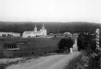 Троицкий скит. Фото Я.Лейцингера, 1899