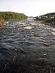 Река Умба и деревня Умба