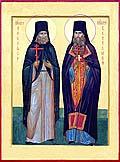 Преподобномученики Никифор и Вениамин. Современная икона