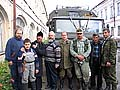 Илл.1 Экспедиционный отряд у Соловецкого подворья в Архангельске