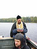 Воскресная молитва на водах Волкозера