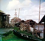 Рыбачий поселок Выгозеро, 1909 г. Фото С.М. Прокудина-Горского