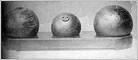 Английские ядра. Фото времен СЛОНа. АОКМ